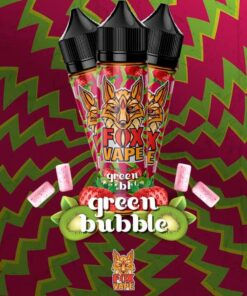 FOX Green Bubbles E-LIQUID