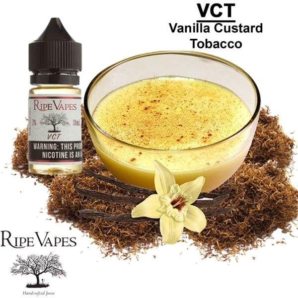 RIPE VAPES VCT SALT NIC. E-LIQUID