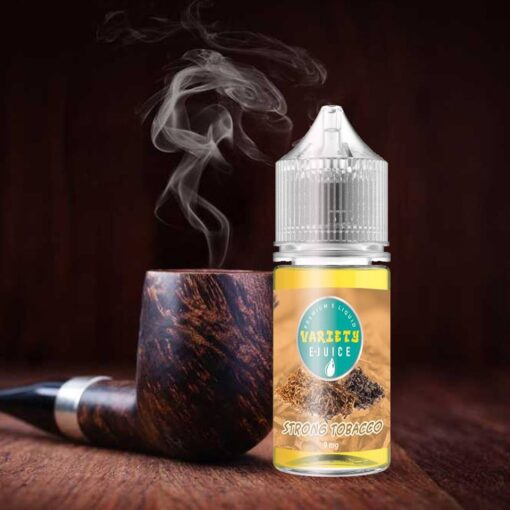 VARIETY STRONG TOBACCO MTL E-LIQUID