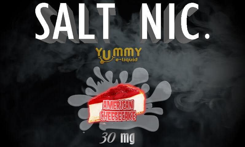 YUMMY AMERICAN CHEESECAKE SALT NIC. E-LIQUID