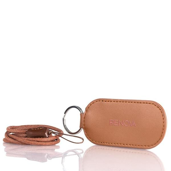 ZERO LEATHER PU LEATHER POUCH (BROWN)