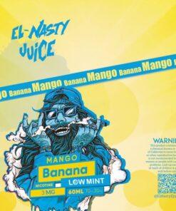 EL NASTY BANANA MANGO LOW MINT E-LIQUID