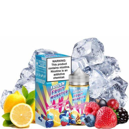 Frozen Fruit Monster Ice Blueberry Raspberry Lemon e-liquid