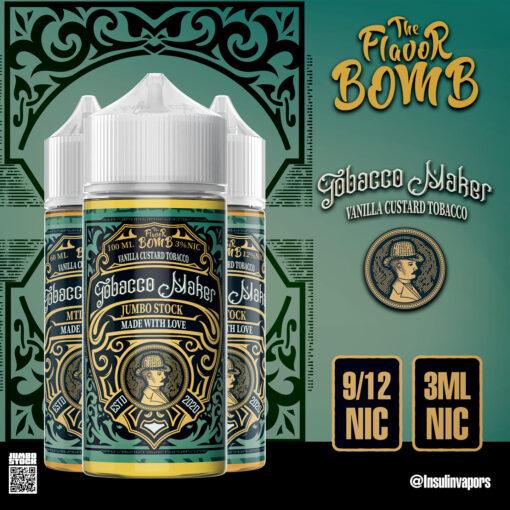 THE FLAVOR BOMB TOBACCO MAKER E-LIQUID