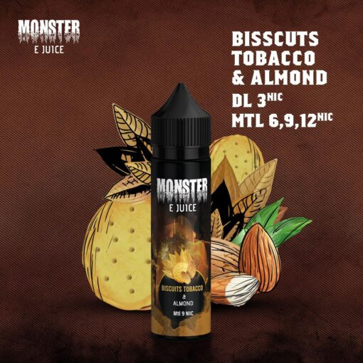 MONSTER BISCUITS TOBACCO E-LIQUID